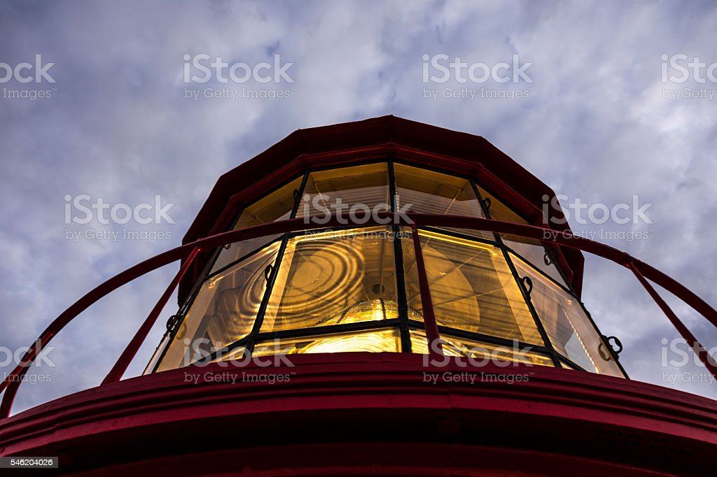 St. Augustine Light stock photo