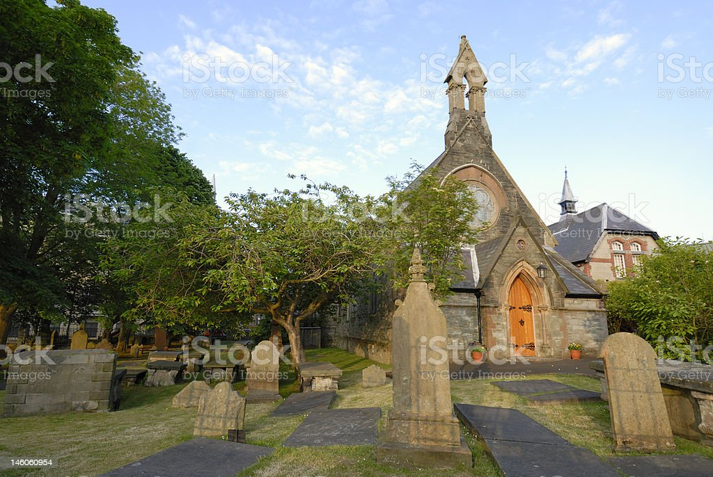 St Augustine's Parish Church stock photo