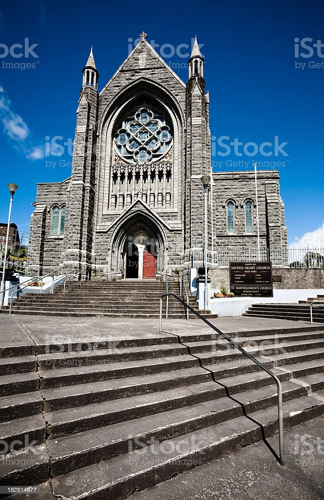 St. Bartholomew's Church, Ireland stock photo