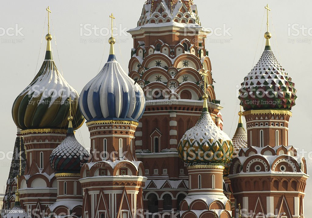 St Basil cathedral royalty-free stock photo