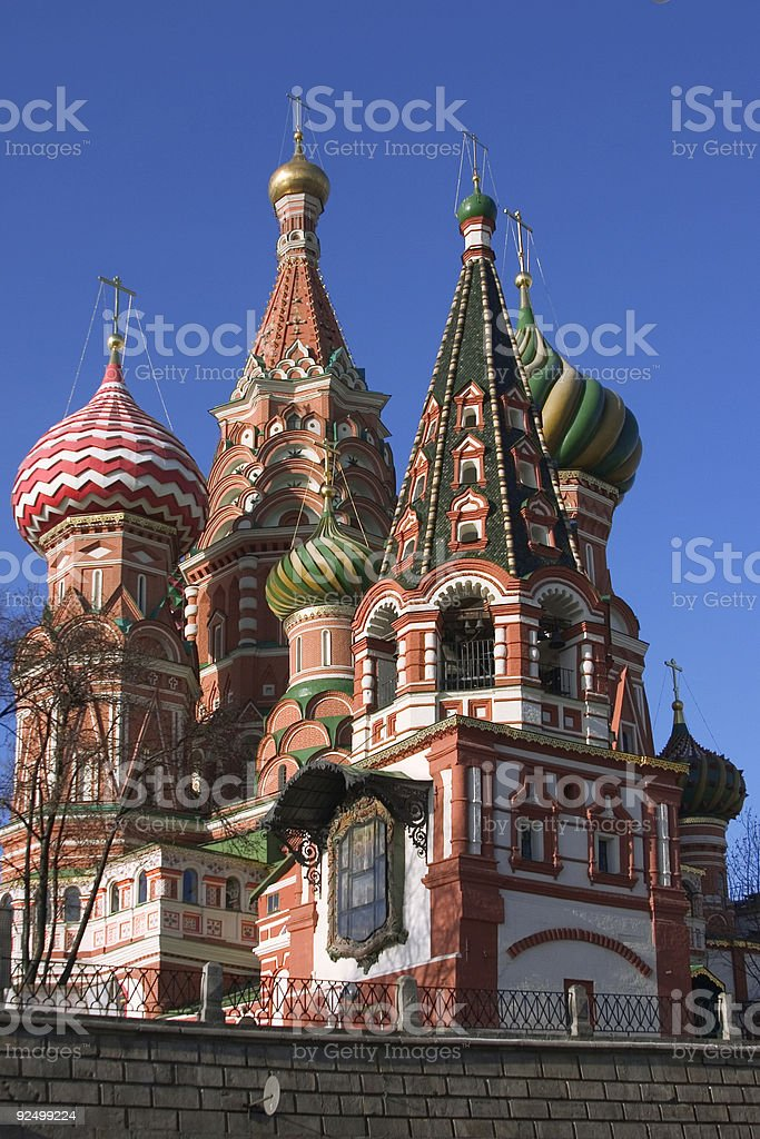 St. Basil Cathedral (Kremlin, Moscow, Russia) royalty-free stock photo