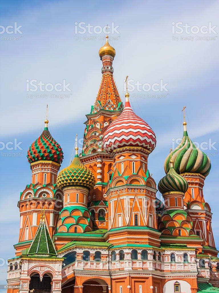 Храм Василия Блаженного, Москва стоковое фото