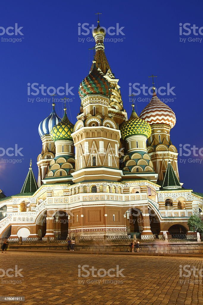 St Basil's Cathedral stock photo
