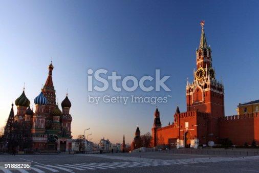 istock St. Basil's & The Kremlin 91688295