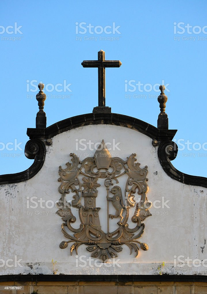 São Bento church, Olinda, Brazil, UNESCO world heritage site royalty-free stock photo