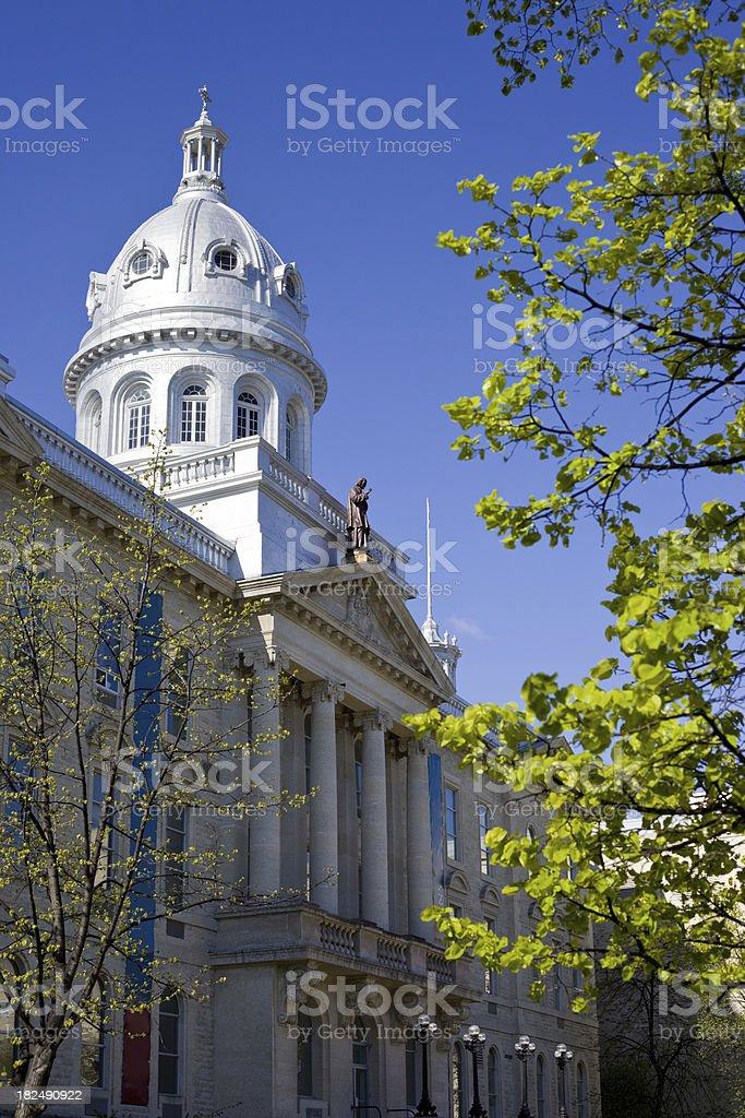 St. Boniface College, University of Manitoba stock photo