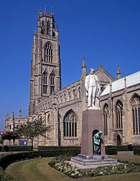 st botolph's church, boston, england. - 林肯郡 個照片及圖片檔