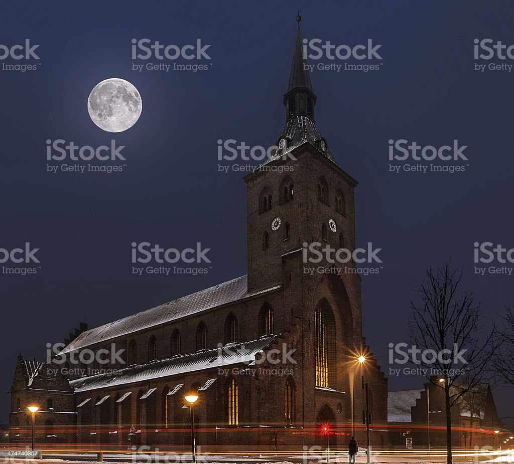 St. Canute's Cathedral stock photo