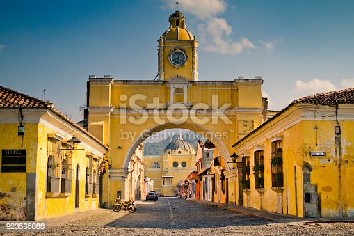 Antigua downtown.