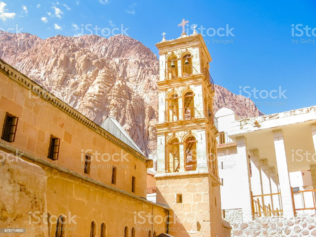 St. Catherine bell tower stock photo