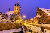 istock St Catherine Church in Gdansk 942696094