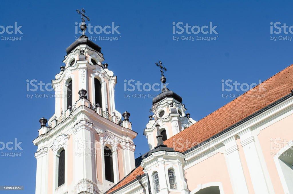 St Catherine's Church (horizontal) stock photo