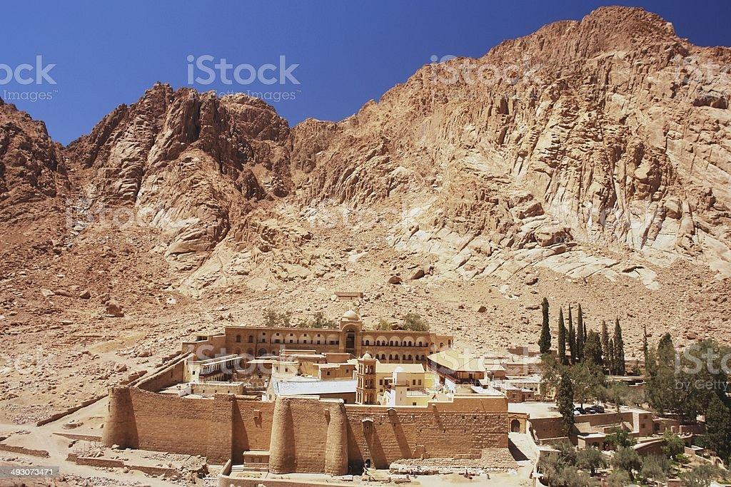 St Catherine's Monastery, Egypt stock photo