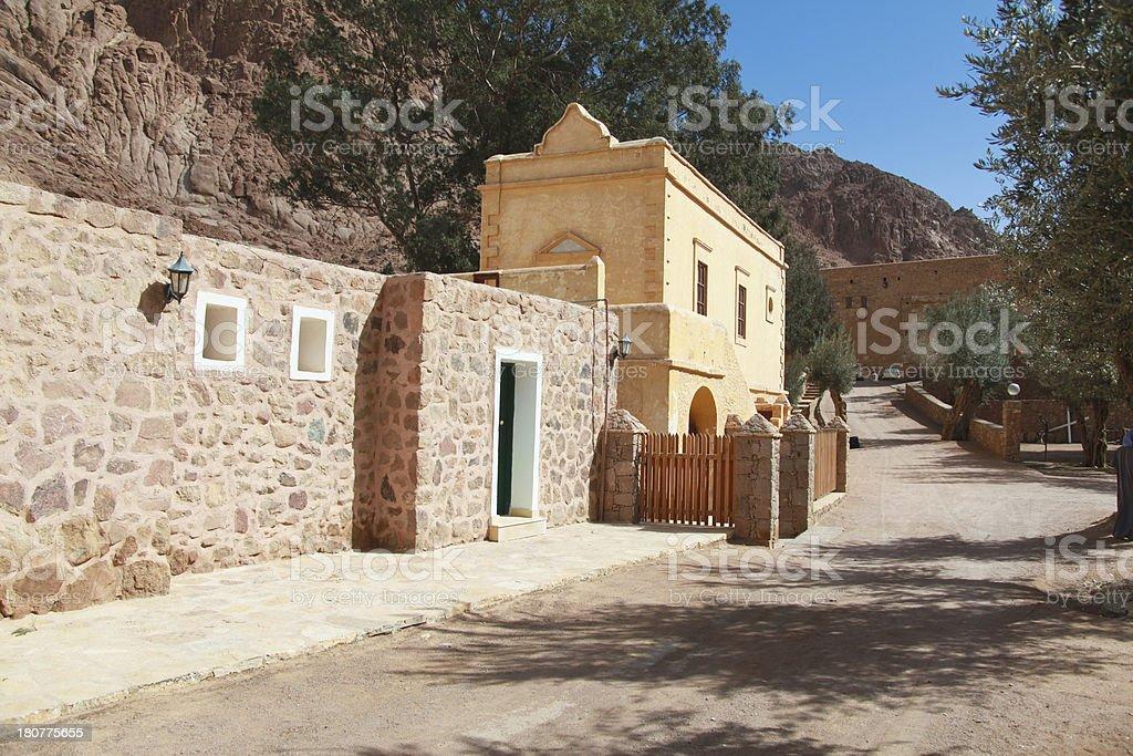 st catherine's monastery stock photo