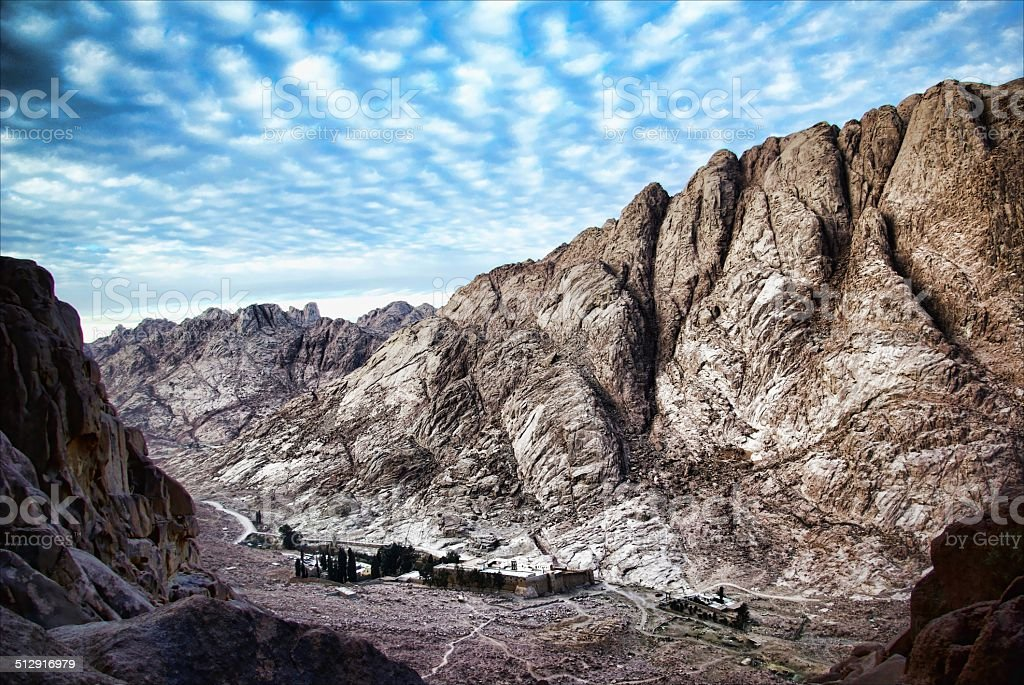 St Catherine's Monstery, Sinai stock photo