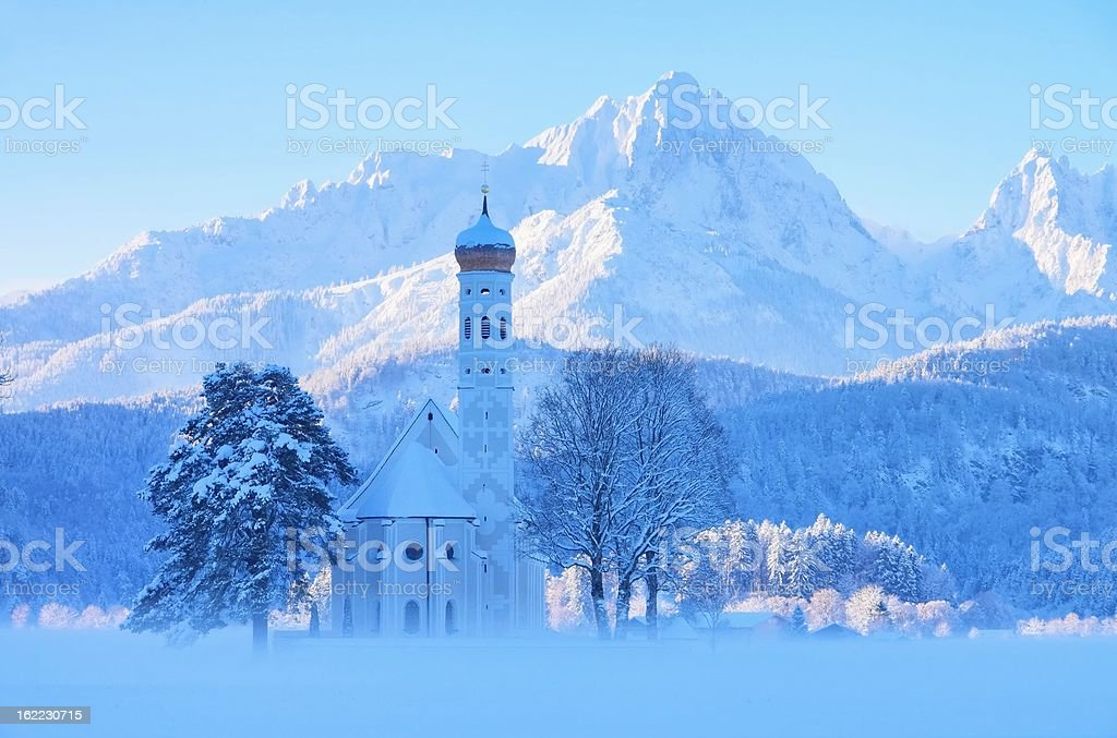 St. Coloman stock photo