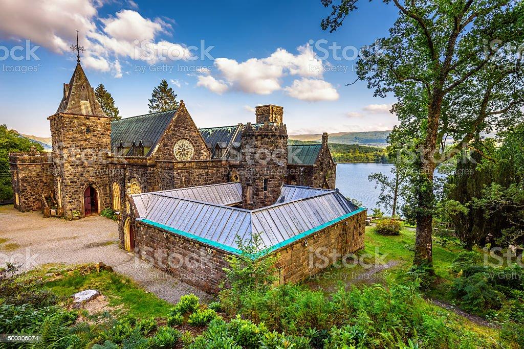 St. Conans Kirk,  Scotland stock photo