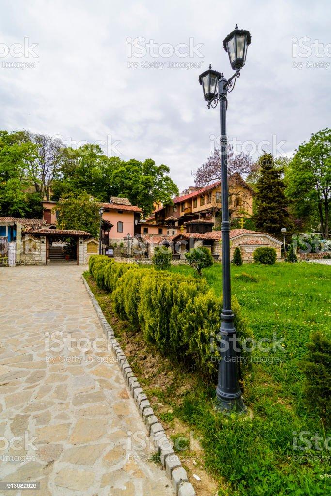 st constantine and elena monastery stock photo