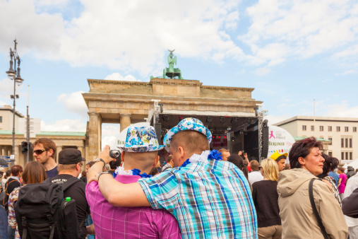 St Cristopher Street Day Parade In Central Berlin Stock Photo - Download Image Now