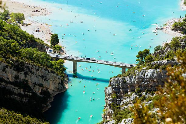 St. Croix lake und Verdon in Frankreich – Foto