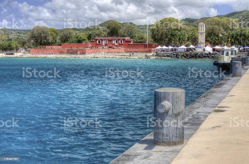 St. Croix stock photo
