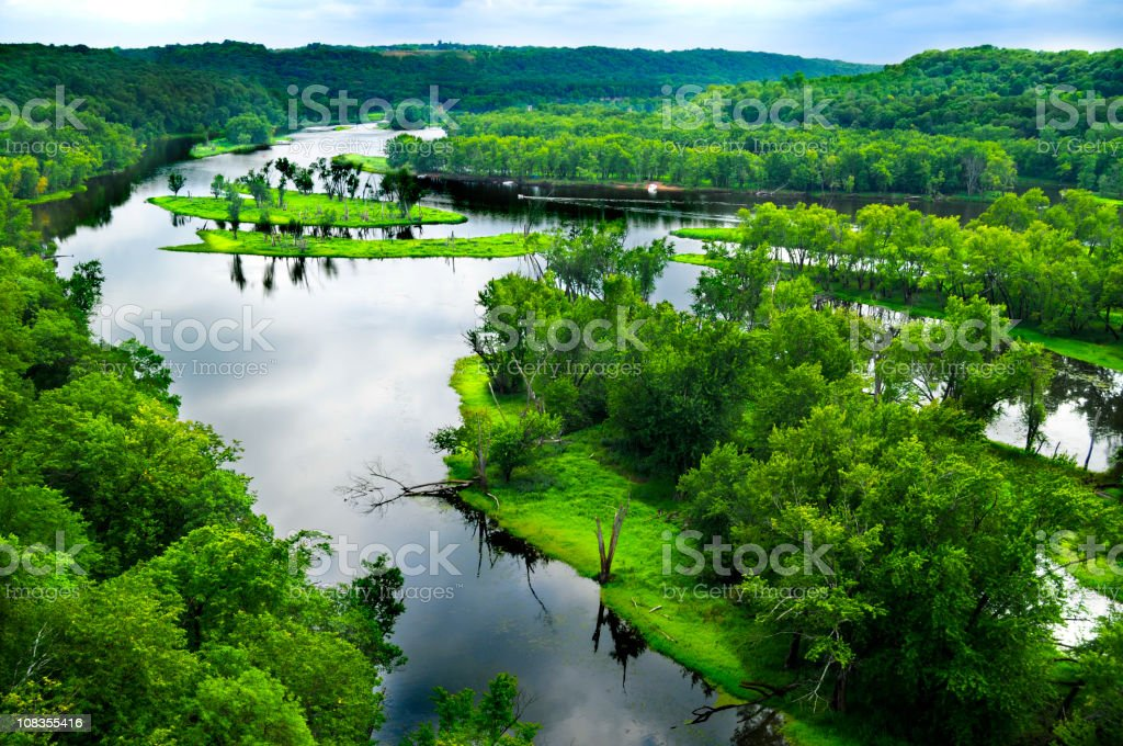 St. Croix River stock photo