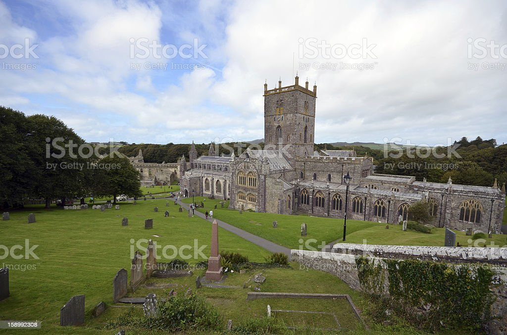 St David's Cathedral royalty-free stock photo