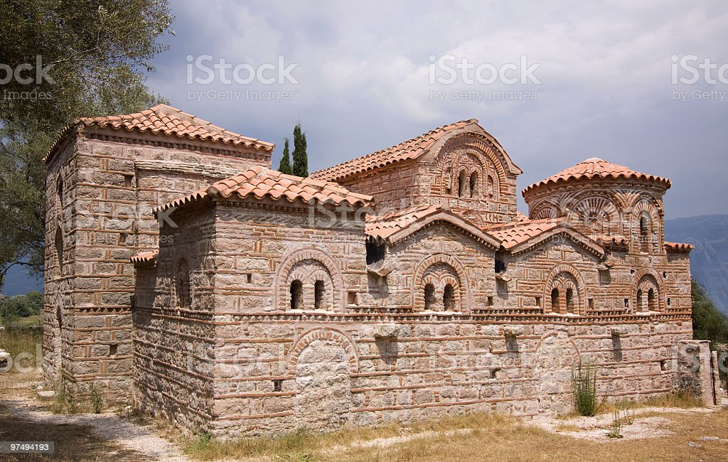 St. Demetrius monastery royalty-free stock photo