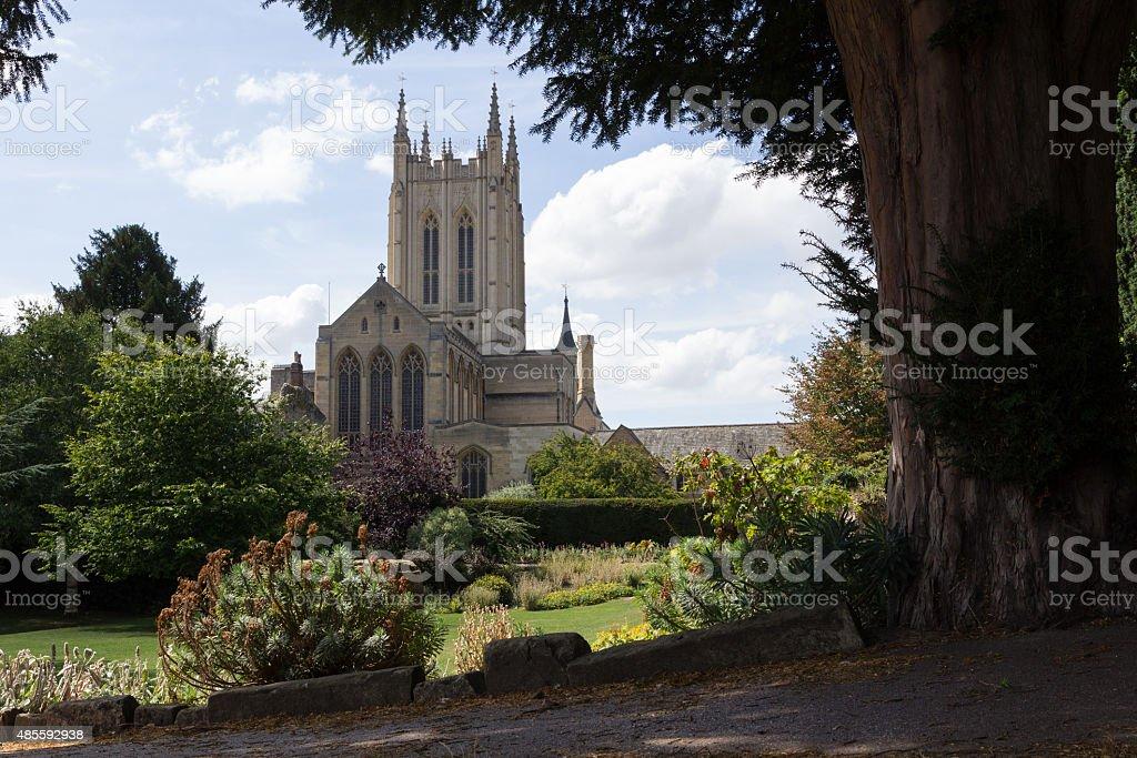 St Edmundsbury Cathedral stock photo