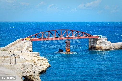 istock St. Elmo bridge, Valletta, Malta 621368802