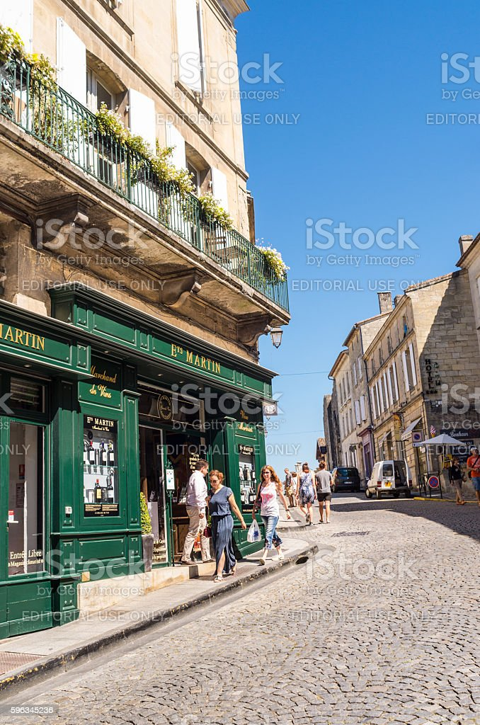 St Emilion, France royalty-free stock photo