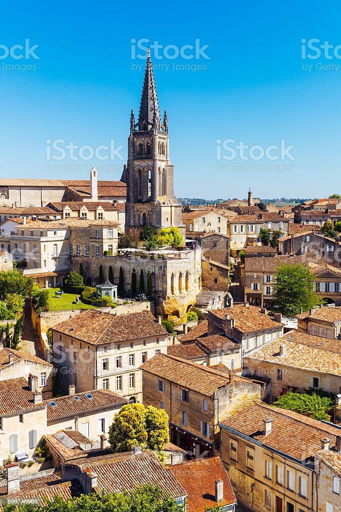 St Emilion, France stock photo