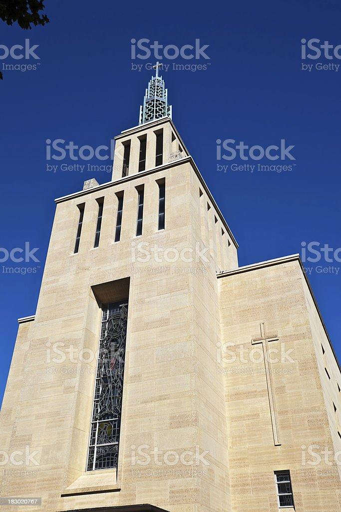 St. Ferdinand Catholic Church in Belmont Cragin, Chicago royalty-free stock photo