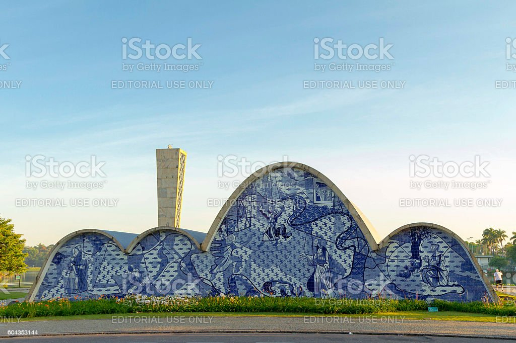 St. Francis of Assisi Church, Belo Horizonte, Brazil stock photo