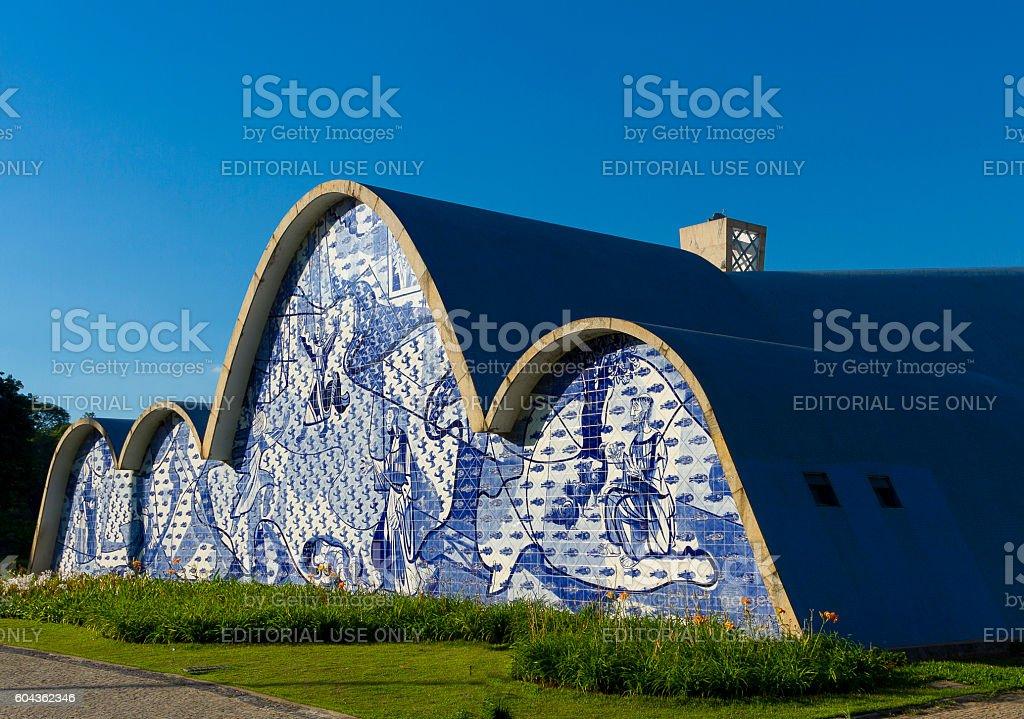 St. Francis of Assisi Church, Pampulha, Belo Horizonte, Brazil stock photo