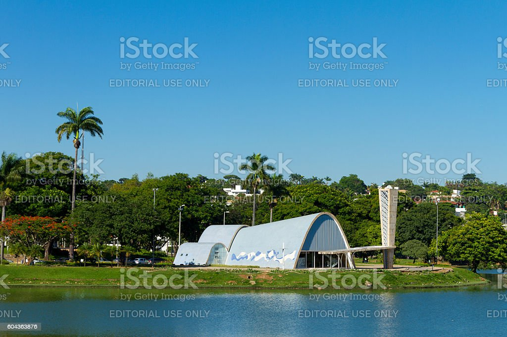St. Francis of Assisi Church,Pampulha, Belo Horizonte, Brazil stock photo