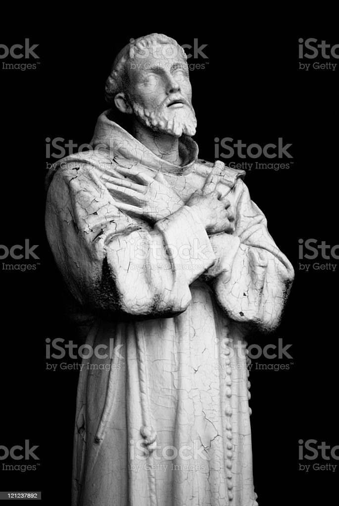 St. Francis of Assisi stock photo