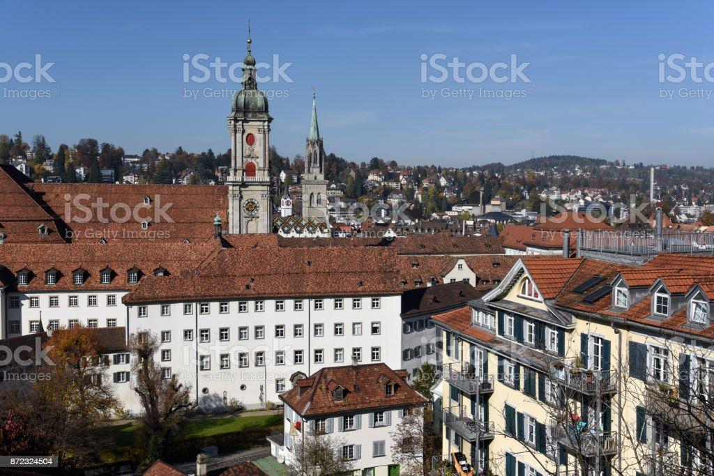 St. Gallen - Panorama stock photo