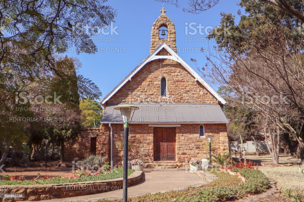 St George church in Cullinan stock photo