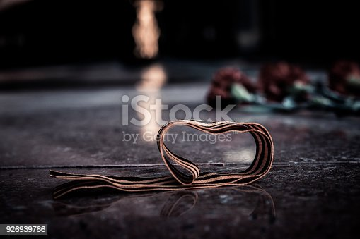 146869841 istock photo St. George ribbon in honor of Victory Day 1945 926939766