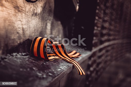 146869841 istock photo St. George ribbon in honor of Victory Day 1945 926939802