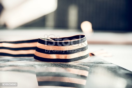 146869841 istock photo St. George ribbon in honor of Victory Day 1945 926939890