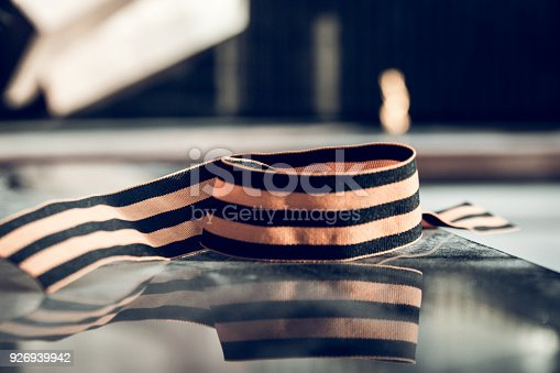 146869841 istock photo St. George ribbon in honor of Victory Day 1945 926939942