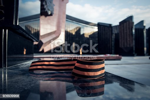 146869841 istock photo St. George ribbon in honor of Victory Day 1945 926939958