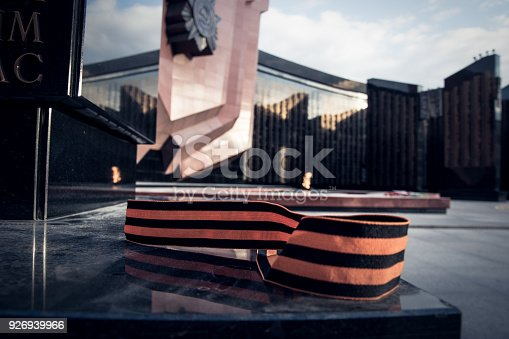 146869841 istock photo St. George ribbon in honor of Victory Day 1945 926939966