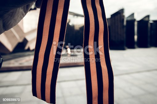 146869841 istock photo St. George ribbon in honor of Victory Day 1945 926939970