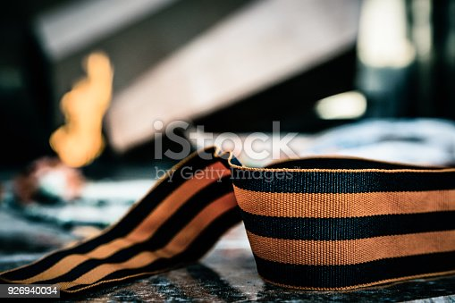 146869841 istock photo St. George ribbon in honor of Victory Day 1945 926940034