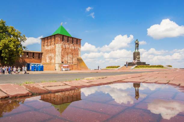 Cтоковое фото St. George Tower of the Nizhny Novgorod Kremlin