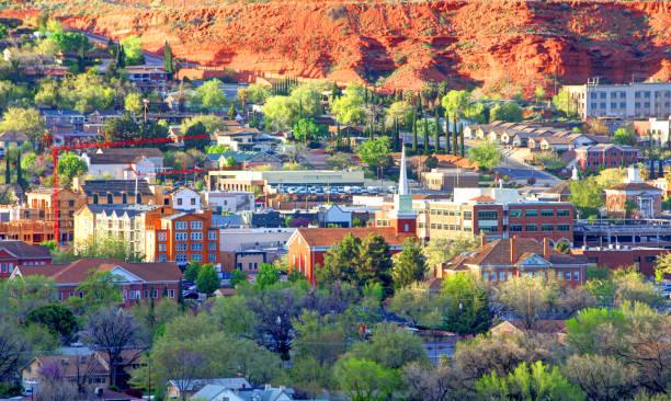 St George, Utah stock photo