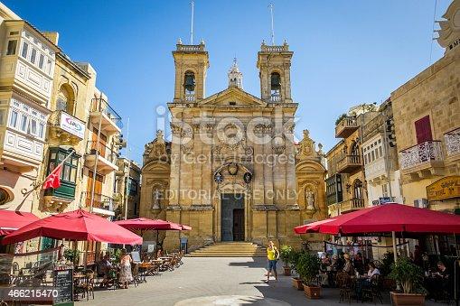 istock St. George's Basilica, Victoria, Gozo, Malta 466215470